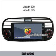 Abarth 500 695 OEM stereo car dvd player GPS navigation TV SWE-A7302