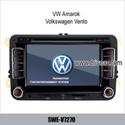 VW Amarok Volkswagen Vento DVD player GPS navi IPOD rearview camera TV