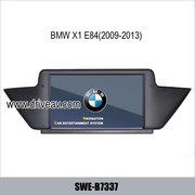 BMW X1 E84 OEM stereo radio car dvd player GPS navigation TV IPOD Blue