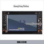 SsangYong Rodius stereo DVD player GPS navi IPOD rearview camera