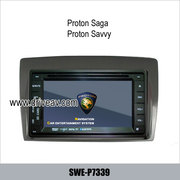 Proton saga Proton Savvy OEM stereo radio dvd player gps navigation TV