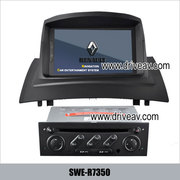 Renault Megane II OEM stereo radio DVD player GPS navigation IPOD TV b