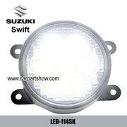 Suzuki Swift DRL LED Daytime Running Lights Car headlight parts Fog la