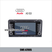 AUDI A3 S3 OEM radio Car DVD player, bluetooth, TV, GPS navigate