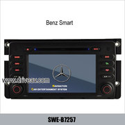 Benz Smart factory stereo radio Car DVD player TV GPS navigation