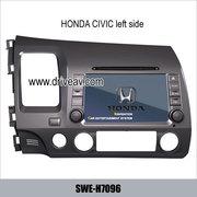 Honda CIVIC factory radio Car DVD Player GPS Navi bluetooth TV